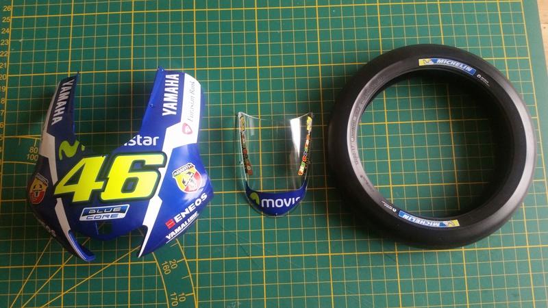 Construisez la moto YZR-M1 de Valentino Rossi en partenariat avec ALTAYA 20180574
