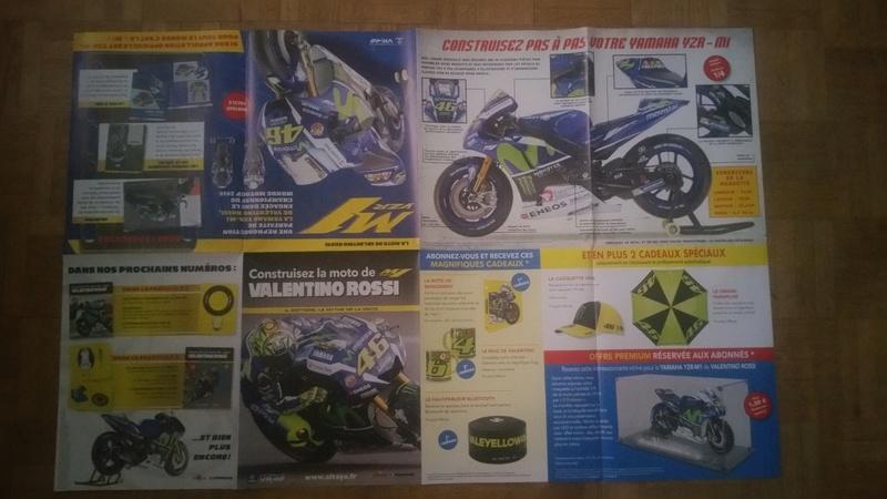Construisez la moto YZR-M1 de Valentino Rossi en partenariat avec ALTAYA 20180575