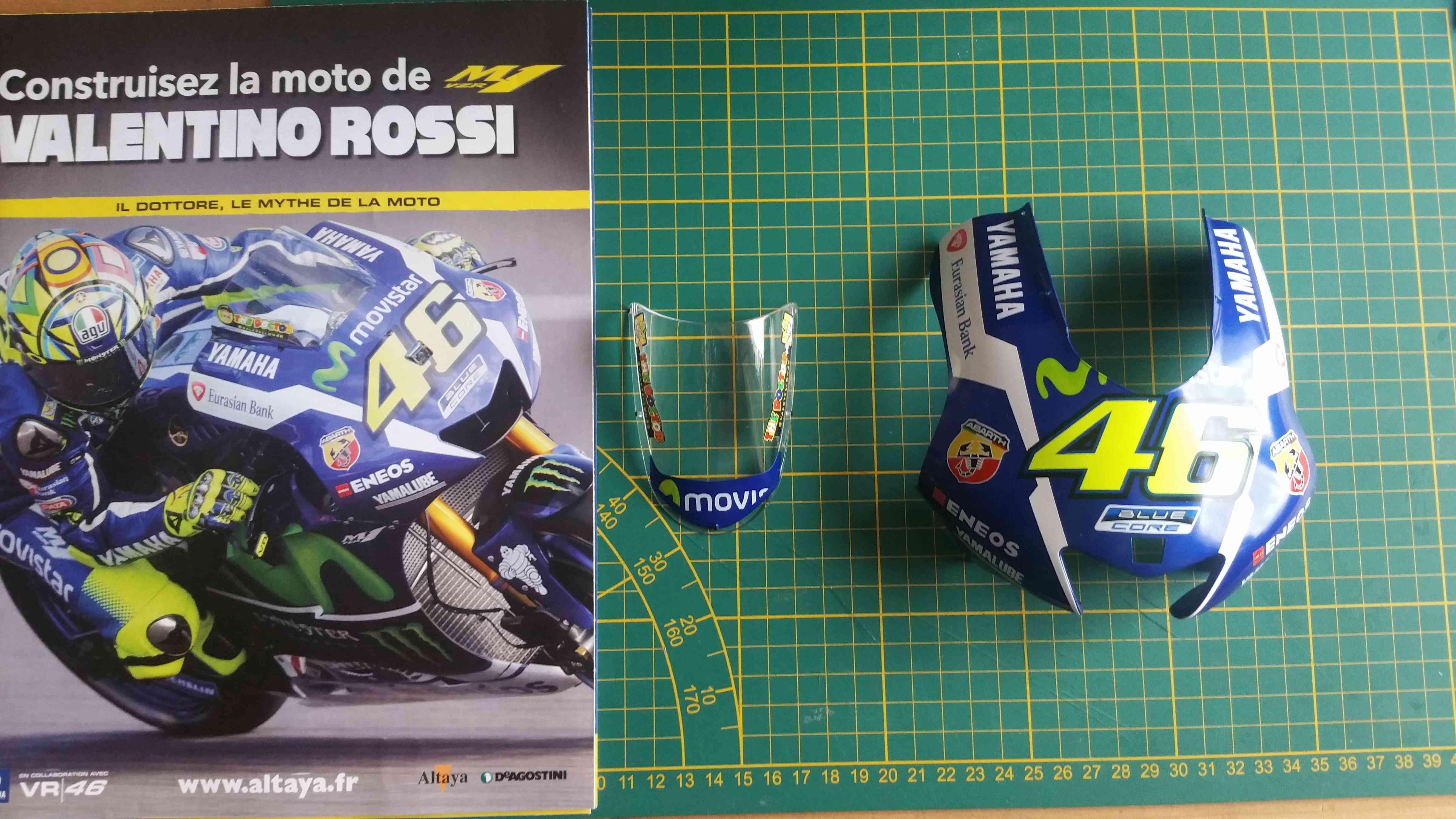 Construisez la moto YZR-M1 de Valentino Rossi en partenariat avec ALTAYA 20180580