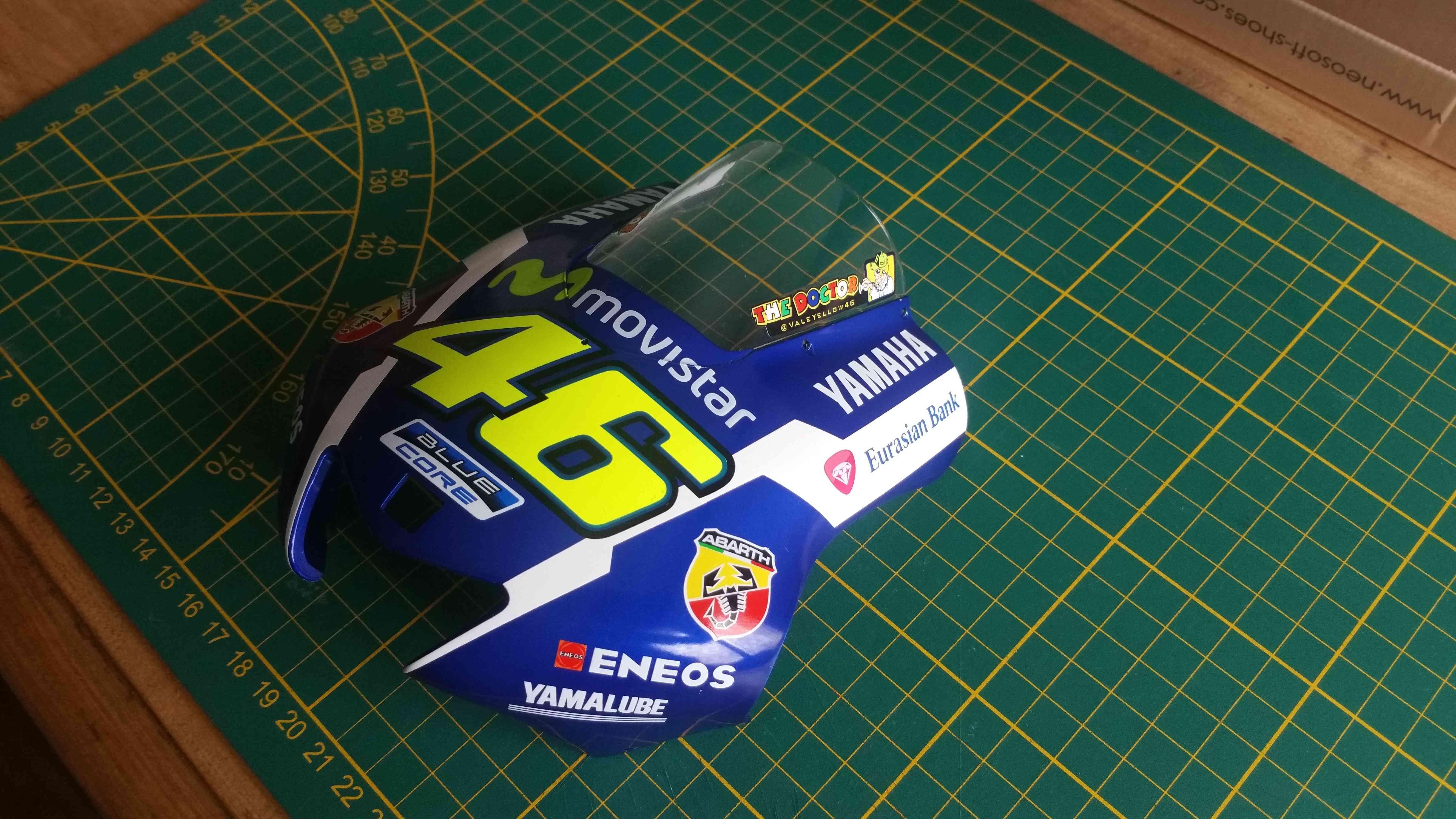 Construisez la moto YZR-M1 de Valentino Rossi en partenariat avec ALTAYA 20180581