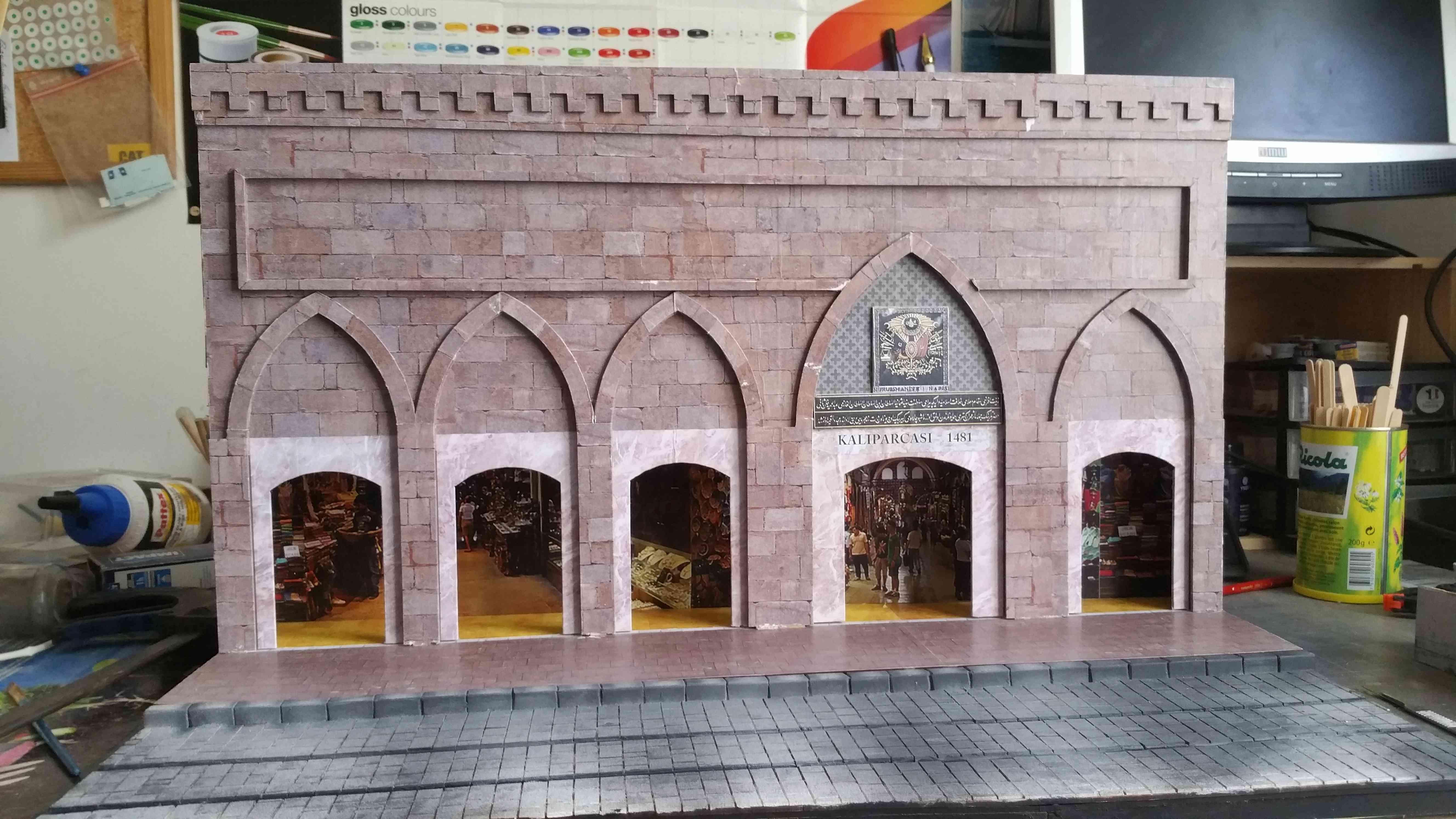 montage du diorama Istanbul de notre partenaire OcCre au 1/24° - Page 3 20180617
