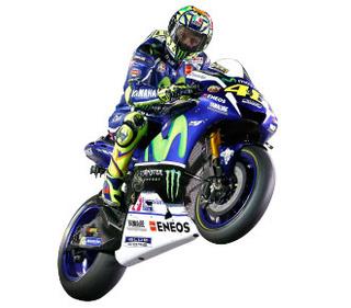 Construisez la moto YZR-M1 de Valentino Rossi en partenariat avec ALTAYA 640710