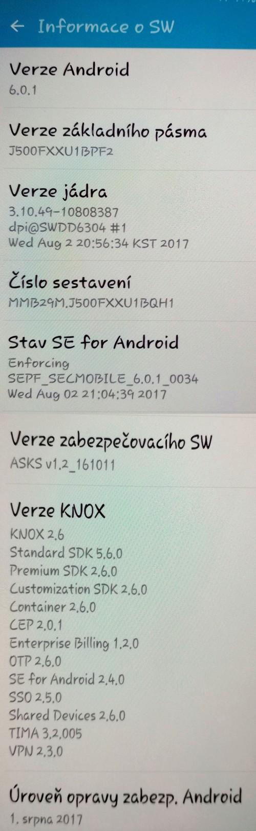 Samsung J5 Duos model SM-J500F/DS nejde zapnout wifi Img_2010