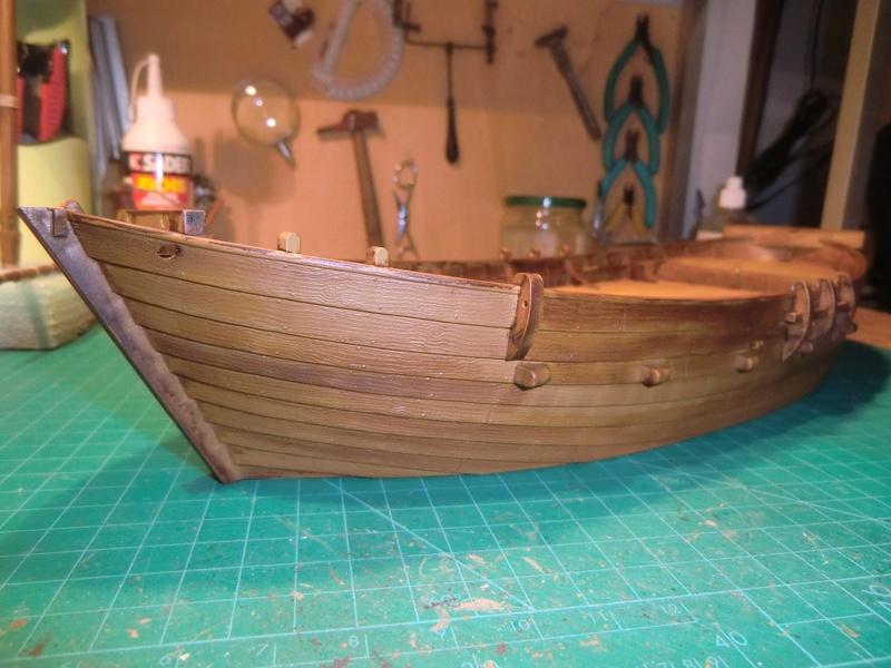 Crusaders ship Zvezda 1/72 Kogge_11