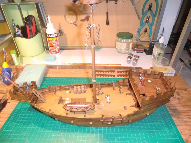 Crusaders ship Zvezda 1/72 Kogge_29