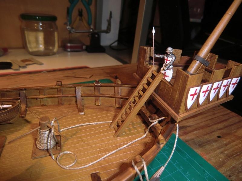 Crusaders ship Zvezda 1/72 Kogge_33