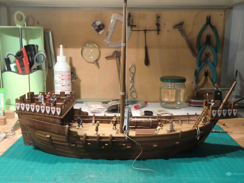 Crusaders ship Zvezda 1/72 Kogge_37
