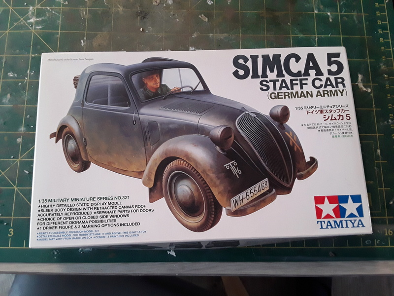 Simca 5  (Tamiya au 1/ 35) 20180123