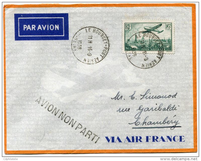 Croix ou lignes parallèles,au tampon, sur étiquettes PAR AVION Avion_10