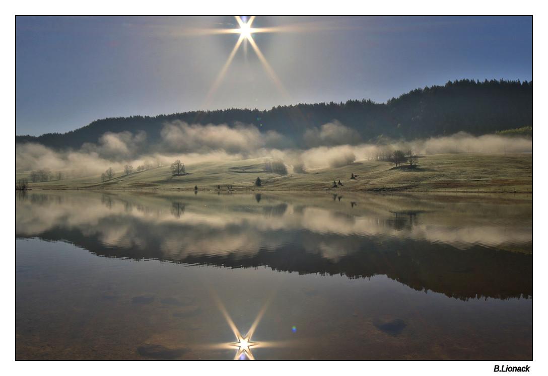 Brume sur le lac Lacbru10