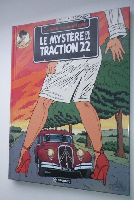 Des BD ... dont l'héroïne est une Citroën ... 30-110
