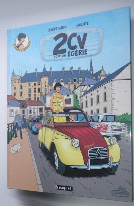 Des BD ... dont l'héroïne est une Citroën ... 30-310