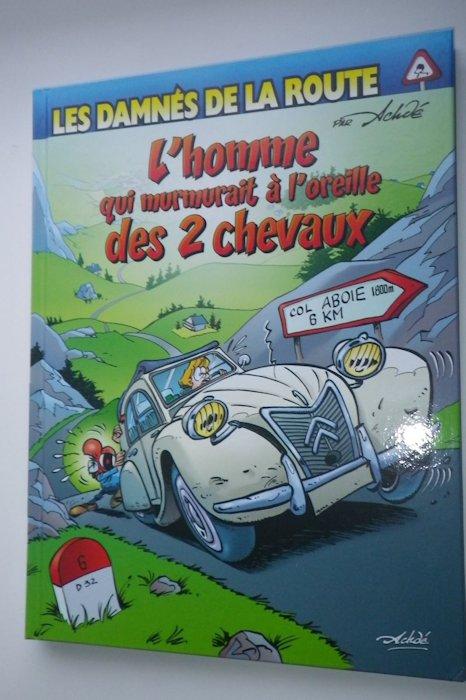 Des BD ... dont l'héroïne est une Citroën ... 31-110