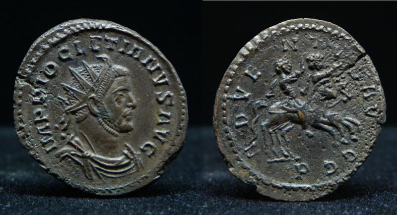 Aureliani de Lyon de Dioclétien et de ses corégents - Page 11 Diocle10