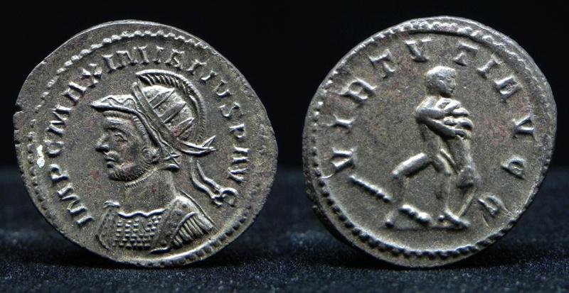 Aureliani de Lyon de Dioclétien et de ses corégents - Page 11 Maximi10