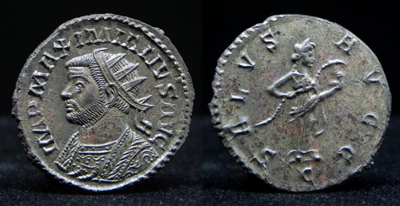 Aureliani de Lyon de Dioclétien et de ses corégents - Page 11 Maximi11
