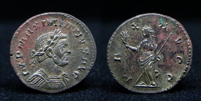 Aureliani de Lyon de Dioclétien et de ses corégents - Page 11 Maximi12