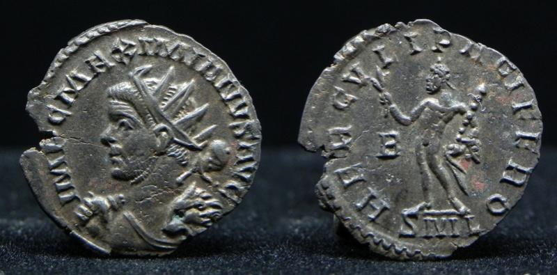 Aureliani de Lyon de Dioclétien et de ses corégents - Page 11 Maximi16