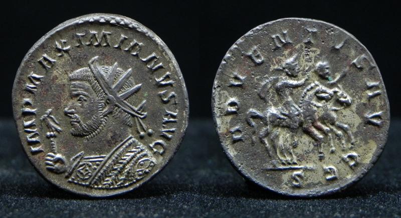 Aureliani de Lyon de Dioclétien et de ses corégents - Page 11 Maximi17