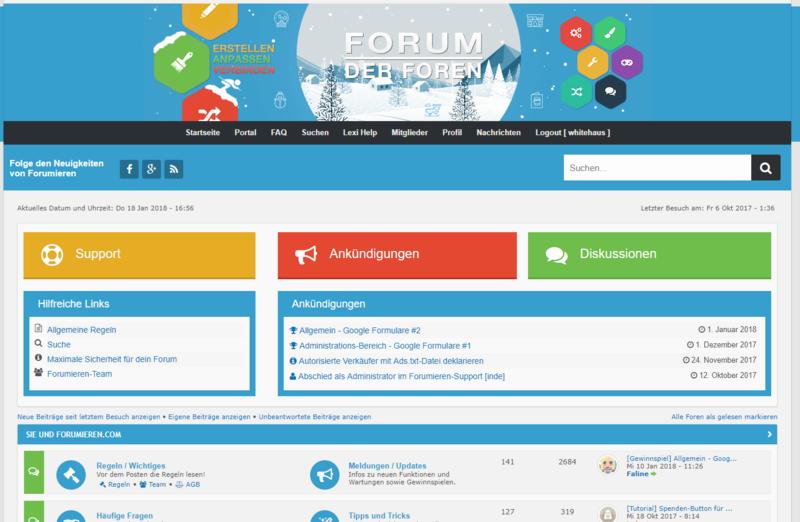 Könnte Ihnen ein undentgeltliches Support-Team gefallen? Forumi12