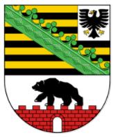 Förderprogramm Ausfallbürgschaften der Bürgschaftsbank Sachsen-Anhalt Wappen38