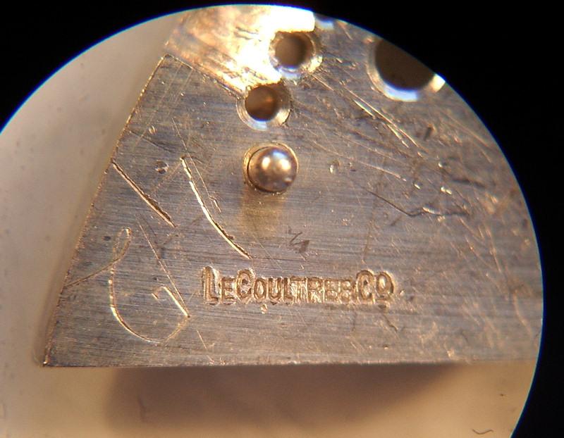 lecoultre - Mouvement Lecoultre à châtons ou autre ? 00910