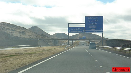 mimouni - Avec Mimouni sur l'Autoroute de l'Atlas Souss_17