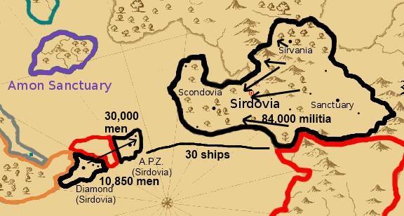 Alledon launches surprise attack on Scondovia, Diamond Sirdov10