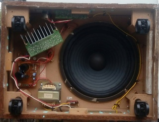 "NEC SW-300 12"" Powered Subwoofer 110"