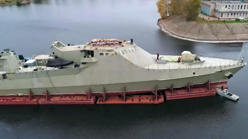Corvettes classe VASILY BYKOV (Projet 2216.0) 111