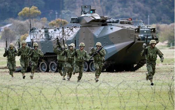 [interarmées] La force amphibie japonaise 210110