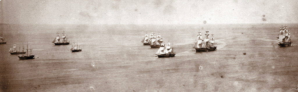 Escadre anglaise à La Grenade en 1880 26janv10