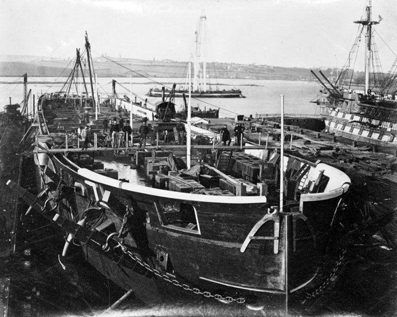 Les premiers cuirassés britanniques 1860-1889 Achill10
