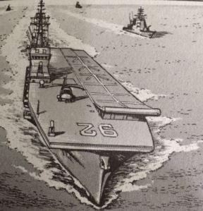 Le porte-avions Ibuki B0110