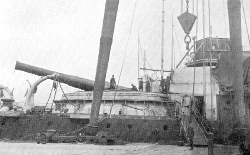 Les premiers cuirassés britanniques 1860-1889 Benbow11