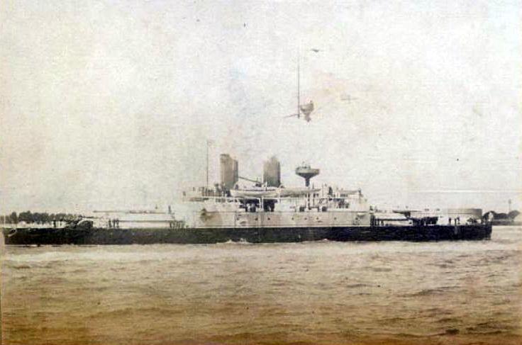 Les premiers cuirassés britanniques 1860-1889 Benbow14