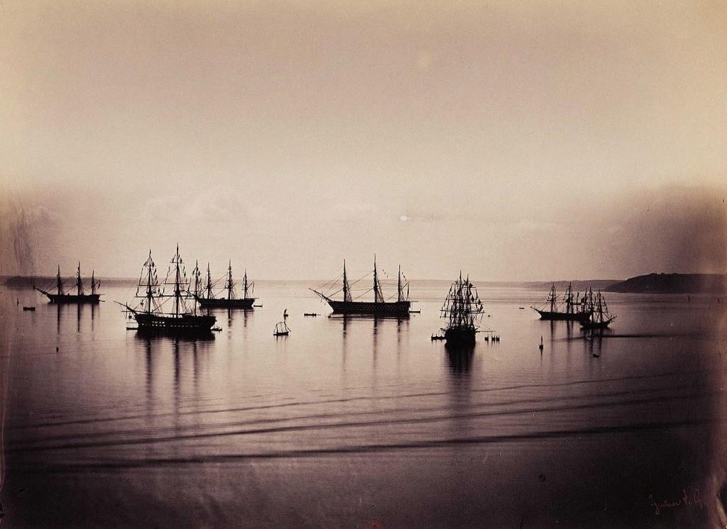 Cherbourg en 1858 Cherbo10