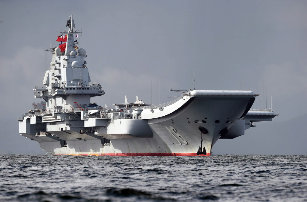 Porte-avions chinois Liaoni10