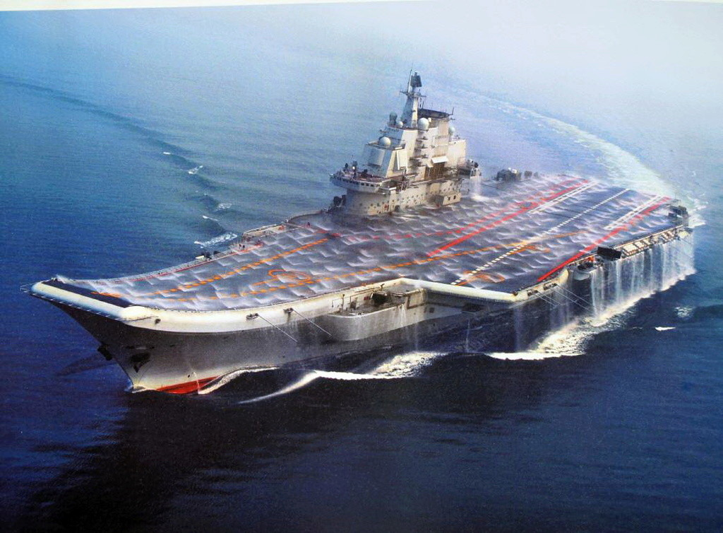 Porte-avions chinois Liaoni11