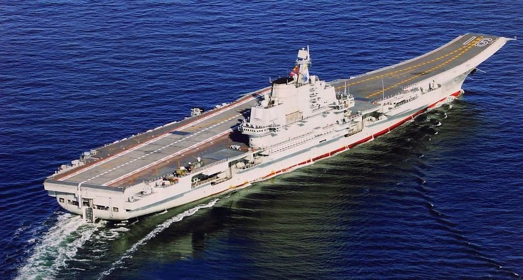 Porte-avions chinois Liaoni12