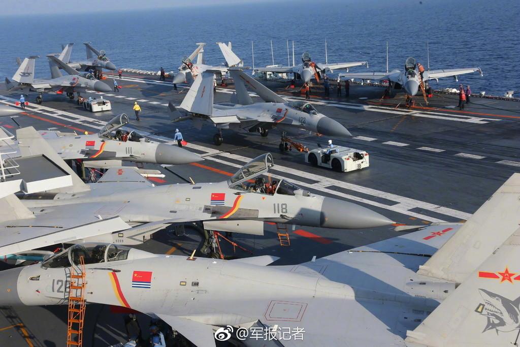 Porte-avions chinois Liaoni14