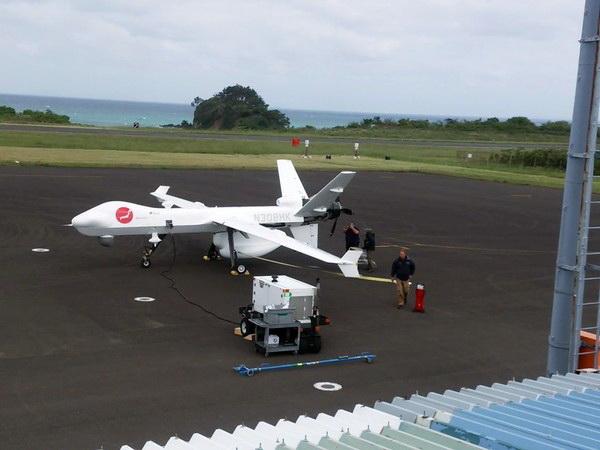 [Aviation maritime] UAV MQ-9 Guardian Mq910
