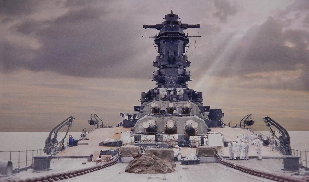 IJN Yamato en détails - Page 3 Musash10