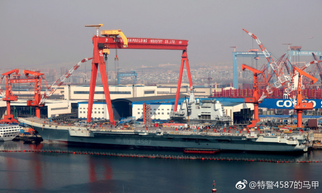 Porte-avions chinois Tsoin110