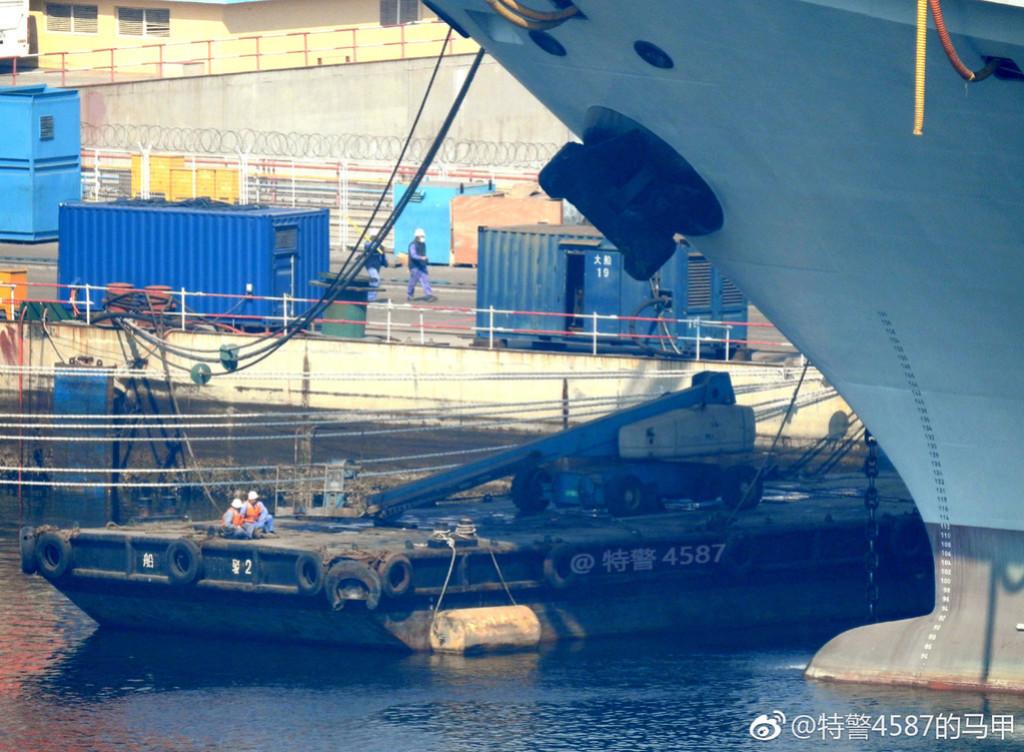 Porte-avions chinois Tsoin210