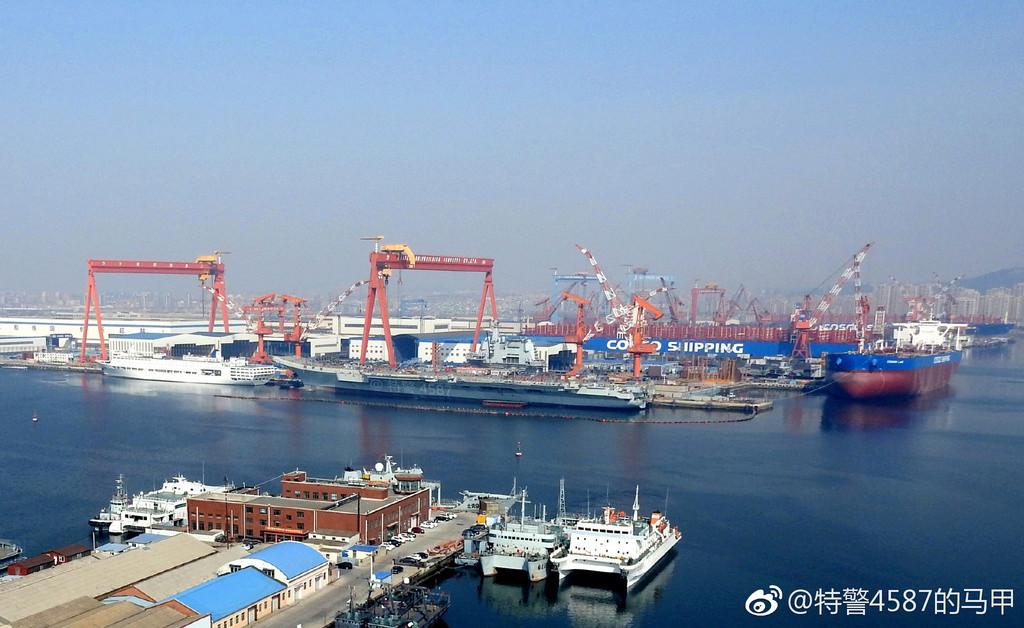 Porte-avions chinois Tsoin410