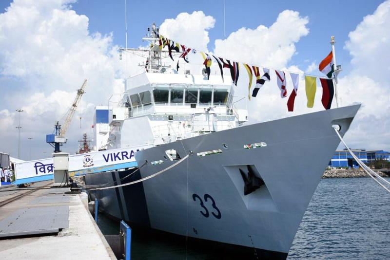[ICG] Garde-côtes indiens Vikram12