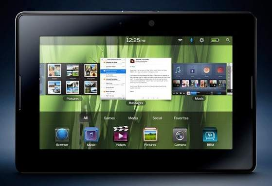 RIM Unveils BlackBerry PlayBook Tablet  vs  ipad , Here's Full Specs, Features and Release Date Blackb11