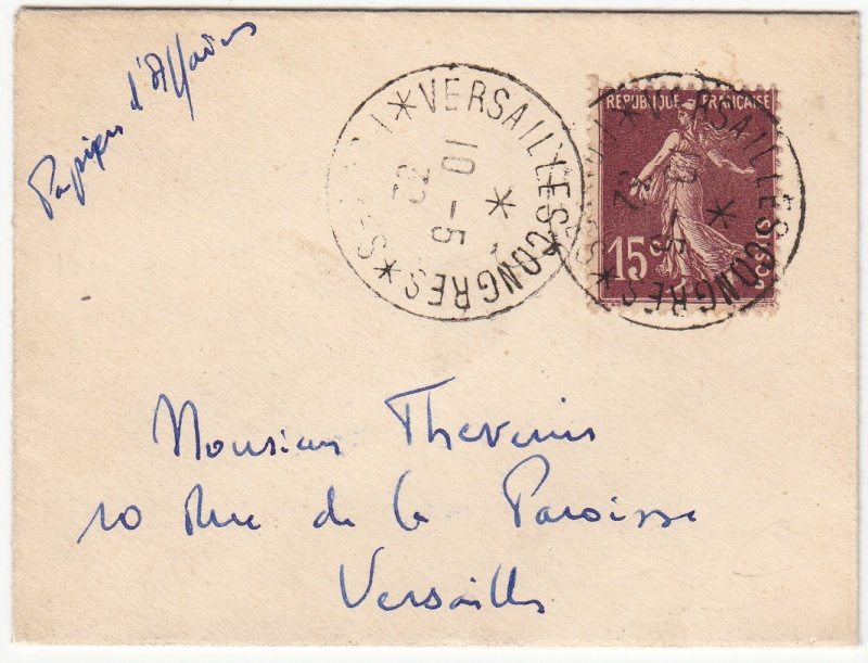 Congrès de Versailles 1932 Congra11