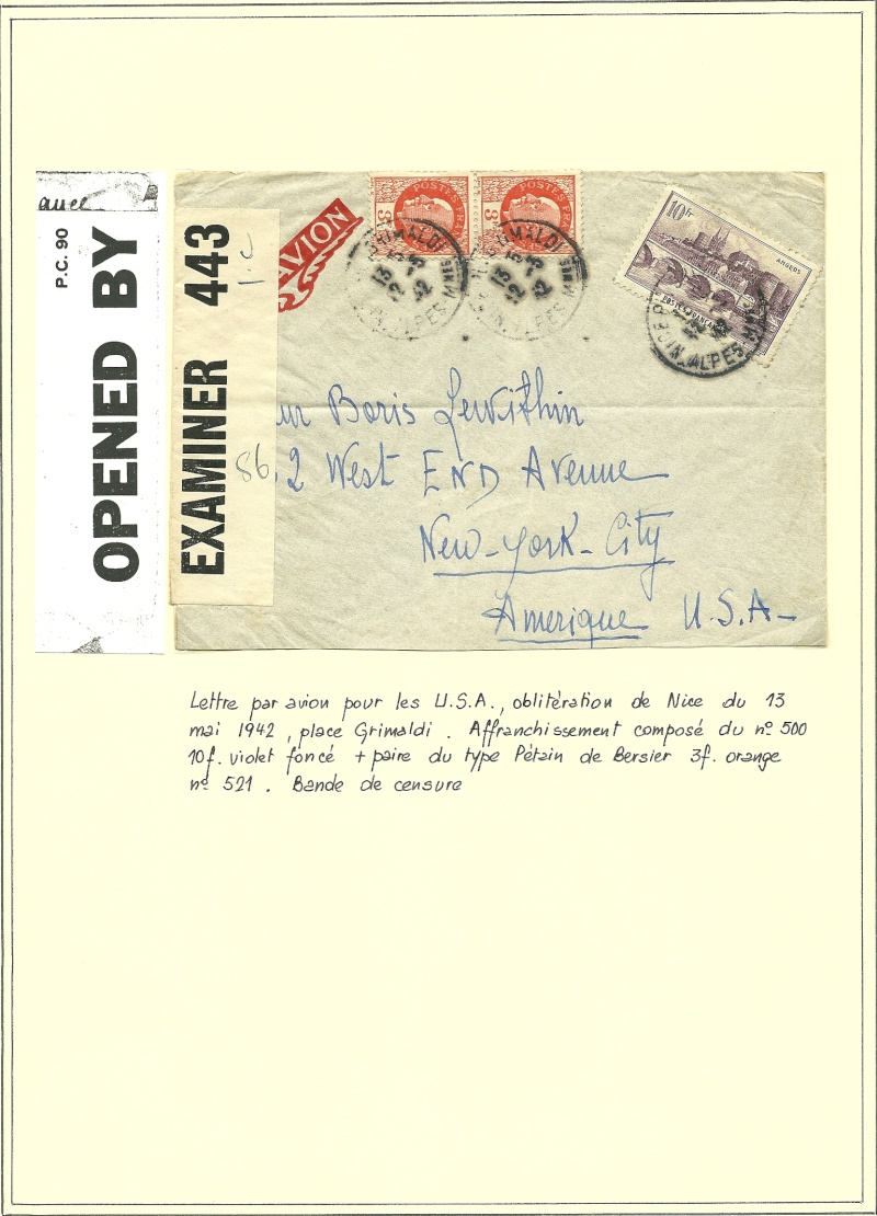 Censure.............1942 Numris17